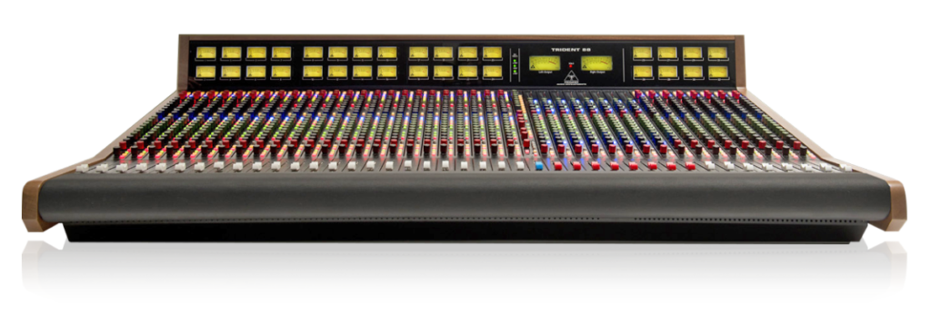 Trident 88 Console - Trident Audio Developments